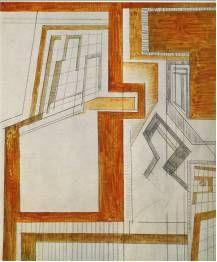 Figure 3: Wyndham Lewis, Composition II 1914-15. Estate of Mrs G.A. Wyndham Lewis. By permission.
