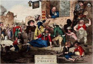 Ramberg, Humours of St Giles (1788)