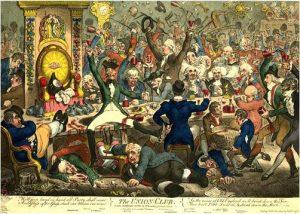 Gillray, The Union Club (1801)