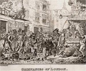 Cruikshank, Grievances of London (1835)