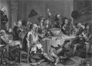 Hogarth, Midnight Modern Conversation