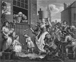 Hogarth, Enraged Musician