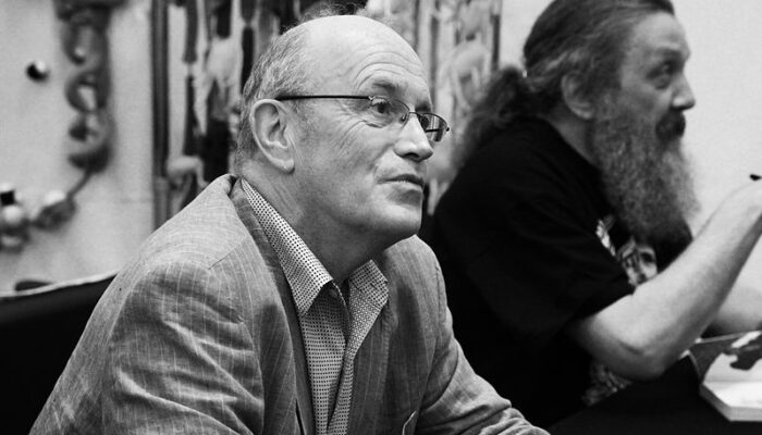 Iain Sinclair, image by Andy Miah